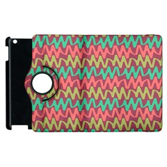 Abstract Seamless Abstract Background Pattern Apple iPad 2 Flip 360 Case