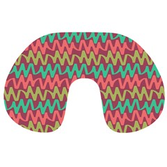 Abstract Seamless Abstract Background Pattern Travel Neck Pillows