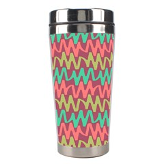 Abstract Seamless Abstract Background Pattern Stainless Steel Travel Tumblers