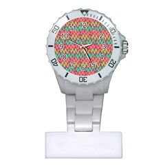 Abstract Seamless Abstract Background Pattern Plastic Nurses Watch