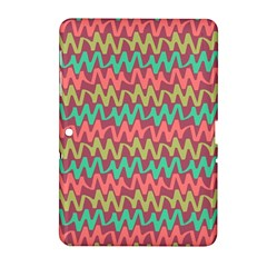 Abstract Seamless Abstract Background Pattern Samsung Galaxy Tab 2 (10.1 ) P5100 Hardshell Case