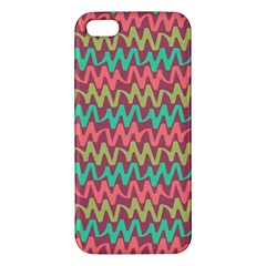 Abstract Seamless Abstract Background Pattern iPhone 5S/ SE Premium Hardshell Case