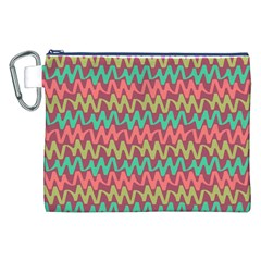 Abstract Seamless Abstract Background Pattern Canvas Cosmetic Bag (XXL)