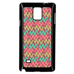Abstract Seamless Abstract Background Pattern Samsung Galaxy Note 4 Case (black)