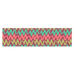 Abstract Seamless Abstract Background Pattern Satin Scarf (oblong)