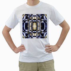 Colorful Seamless Pattern Vibrant Pattern Men s T Shirt (white) (two Sided)