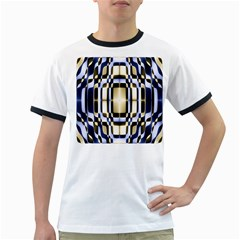 Colorful Seamless Pattern Vibrant Pattern Ringer T Shirts