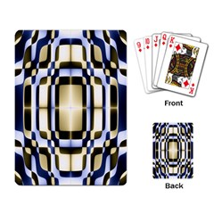 Colorful Seamless Pattern Vibrant Pattern Playing Card