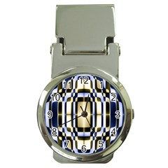 Colorful Seamless Pattern Vibrant Pattern Money Clip Watches