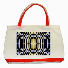 Colorful Seamless Pattern Vibrant Pattern Classic Tote Bag (Red)