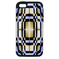 Colorful Seamless Pattern Vibrant Pattern Apple iPhone 5 Hardshell Case (PC+Silicone)