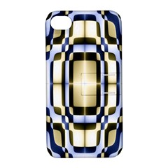 Colorful Seamless Pattern Vibrant Pattern Apple iPhone 4/4S Hardshell Case with Stand