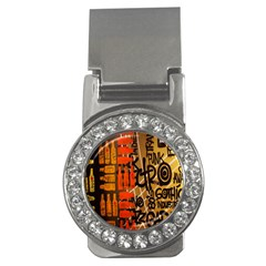 Graffiti Bottle Art Money Clips (cz)