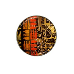 Graffiti Bottle Art Hat Clip Ball Marker