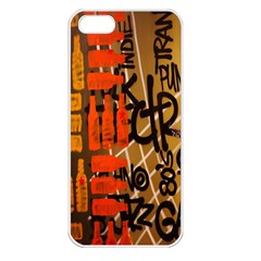 Graffiti Bottle Art Apple Iphone 5 Seamless Case (white)