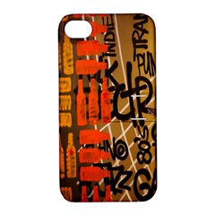 Graffiti Bottle Art Apple Iphone 4/4s Hardshell Case With Stand