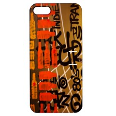 Graffiti Bottle Art Apple iPhone 5 Hardshell Case with Stand