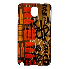 Graffiti Bottle Art Samsung Galaxy Note 3 N9005 Hardshell Case