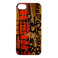 Graffiti Bottle Art Apple iPhone 5S/ SE Hardshell Case