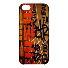 Graffiti Bottle Art Apple iPhone 5C Hardshell Case