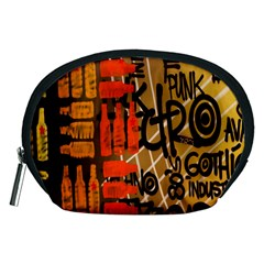 Graffiti Bottle Art Accessory Pouches (Medium)