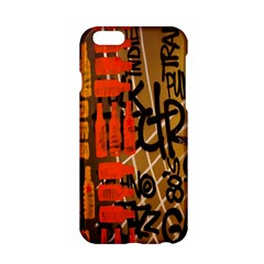 Graffiti Bottle Art Apple iPhone 6/6S Hardshell Case