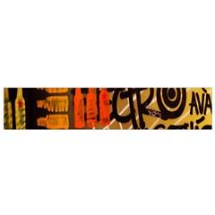 Graffiti Bottle Art Flano Scarf (Small)