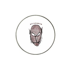 Scary Vampire Drawing Hat Clip Ball Marker