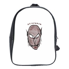 Scary Vampire Drawing School Bags(Large)