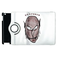 Scary Vampire Drawing Apple iPad 3/4 Flip 360 Case