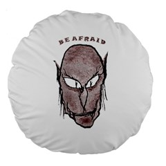 Scary Vampire Drawing Large 18  Premium Round Cushions
