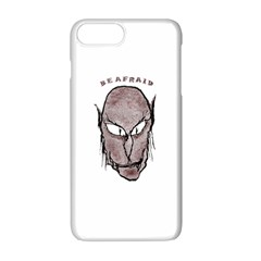 Scary Vampire Drawing Apple Iphone 7 Plus White Seamless Case