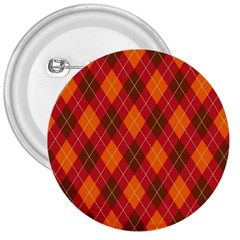 Argyle Pattern Background Wallpaper In Brown Orange And Red 3  Buttons
