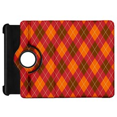 Argyle Pattern Background Wallpaper In Brown Orange And Red Kindle Fire Hd 7