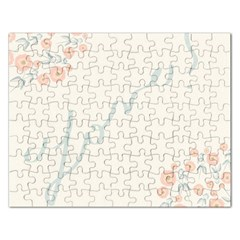 Love Card Flowers Rectangular Jigsaw Puzzl
