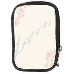 Love Card Flowers Compact Camera Cases
