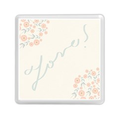 Love Card Flowers Memory Card Reader (square)