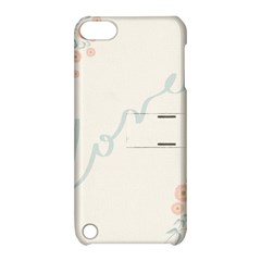 Love Card Flowers Apple iPod Touch 5 Hardshell Case with Stand