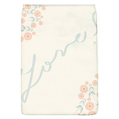 Love Card Flowers Flap Covers (L)