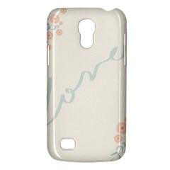 Love Card Flowers Galaxy S4 Mini