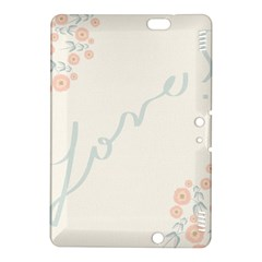 Love Card Flowers Kindle Fire HDX 8.9  Hardshell Case