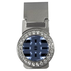 A Completely Seamless Tile Able Techy Circuit Background Money Clips (cz)