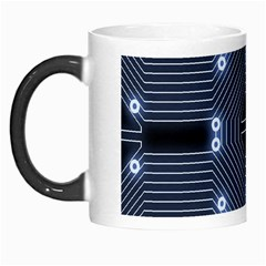 A Completely Seamless Tile Able Techy Circuit Background Morph Mugs