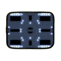 A Completely Seamless Tile Able Techy Circuit Background Netbook Case (small)