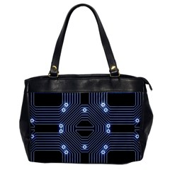 A Completely Seamless Tile Able Techy Circuit Background Office Handbags