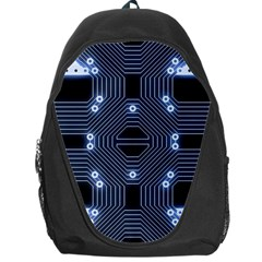 A Completely Seamless Tile Able Techy Circuit Background Backpack Bag