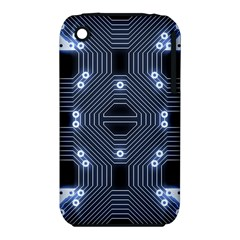 A Completely Seamless Tile Able Techy Circuit Background iPhone 3S/3GS