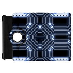 A Completely Seamless Tile Able Techy Circuit Background Kindle Fire Hd 7