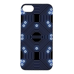 A Completely Seamless Tile Able Techy Circuit Background Apple iPhone 5S/ SE Hardshell Case