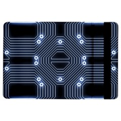 A Completely Seamless Tile Able Techy Circuit Background iPad Air 2 Flip